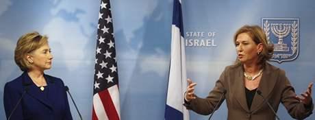 Hillary Clintonová a Cipi Livniová (3. března 2009)