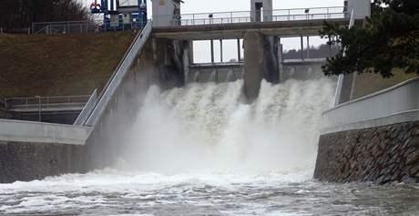 Znojemská přehrada 6. březen 2009