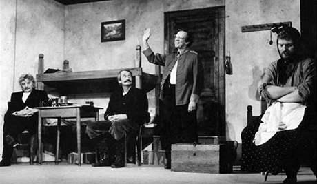 Divadlo Járy Cimrmana - ze hry Lijavec