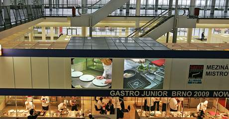 veletrhy Gastronomie a hotelových služeb