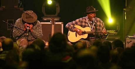 John Cephas & Phil Wiggins na Blues Alive 2007