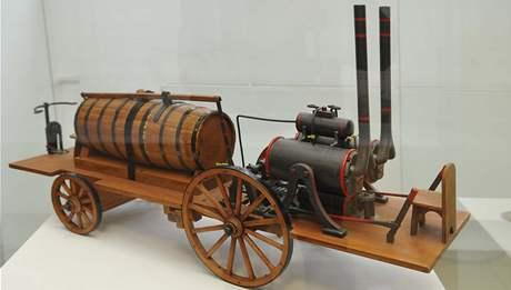 Technické muzeum v Brně vystavuje modely vynálezů Josefa Ressela