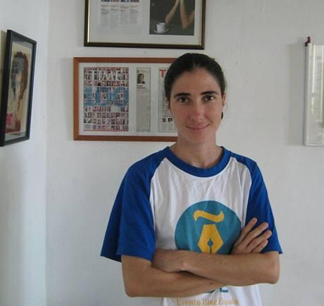 Yoani Sánchezová.