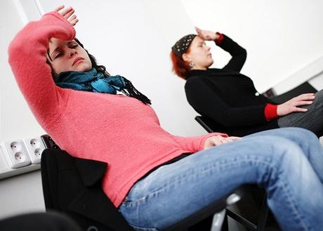 Někteří zhypnotizovaní jsou citlivější a upadají do hlubokého transu