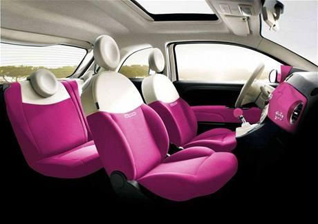 Fiat 500 pro Barbie