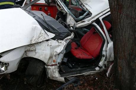 Smrtelná nehoda v obci Kalivody