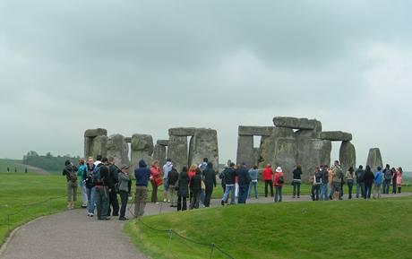 Cesta ke Stonehenge