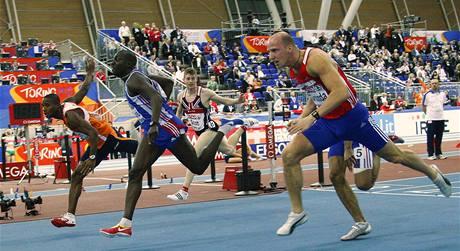 Petr Svoboda si běží pro bronz na HME v Turíně