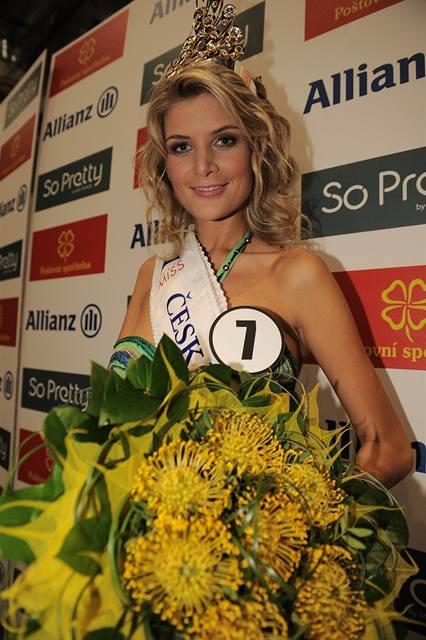 Česká Miss 2009 Iveta Lutovská