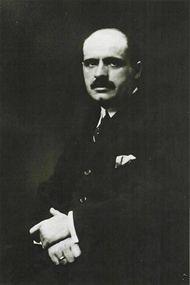 Španělský filozof Ortega y Gasset, autor proslulé knihy Vzpoura davů