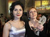 Český lev 2008 - Lenka Termerová a Martha Issová