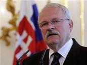 Slovenský prezident Ivan Gašparovič