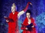 Český lev 2008 - Iva Pazderková a Ester Kočičková