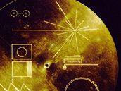 Zlatá deska, kterou nesou Voyagery