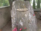 náhrobek Václava Babinského