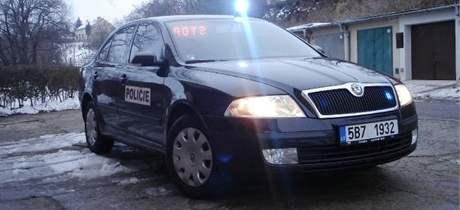 Vůz falešného policisty ze Znojma