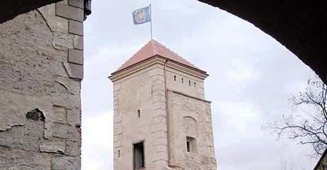 Prachová věž na hradě Veveří