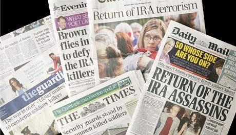 Britská média psala o