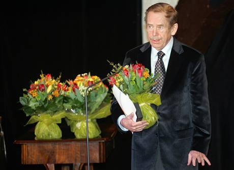 Ceny Alfréda Radoka 2008 - Václav Havel získal cenu Česká hra za inscenaci Odcházení