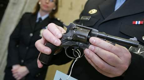 Zbraň, kterou lidé odevzdali při amnestii