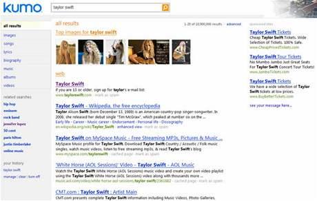 Vyhledávač Kumo - nástupce LiveSearch