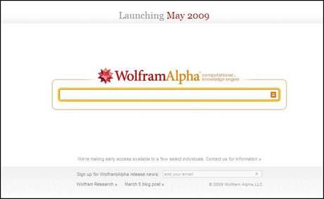 Vyhledávač WolframAlpha