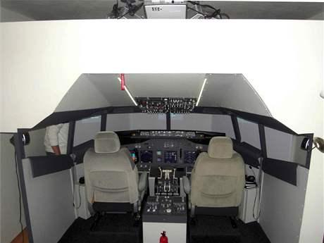 Tranžér Boeingu 737NG umístěný v bytě