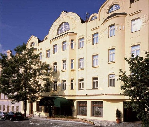 Pra�ský hotel Savoy