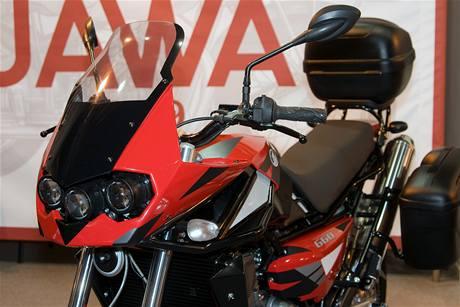 Výstava Motocykl 2009 - nová připravovaná jawa