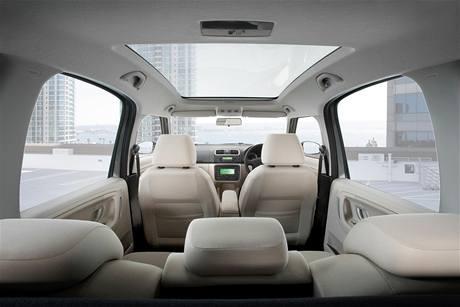 Škoda Roomster s pravostranným řízením