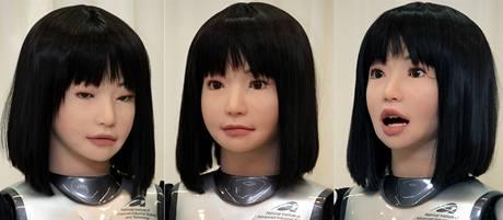 Japonci předvedli robotku, která by měla být v budoucnu modelkou