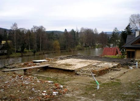 Z domu bude krásný výhled na řeku Sázavu