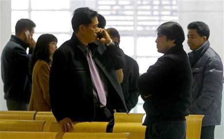 Jihokorejští dělníci čekali v nejistotě na otevření hranic s KLDR