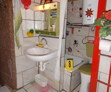 Podzemní prostory, ve který Josef Fritzl léta držel své děti