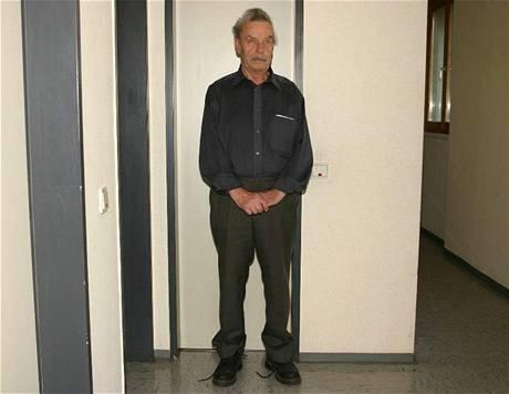 Fotografie Josefa Fritzla, kterou vydala rakouská policie 28. dubna 2008