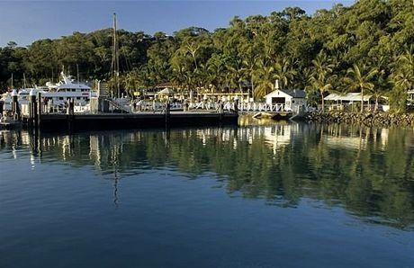 Hamilton Island, přístav