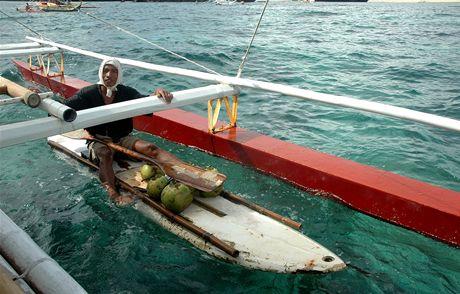 Filipíny, ostrov Boracay