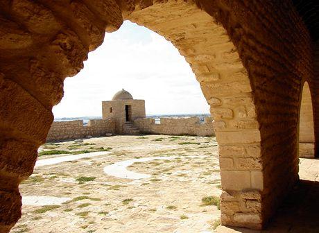 Tunisko, Mahdia. Pevnost el Kebir