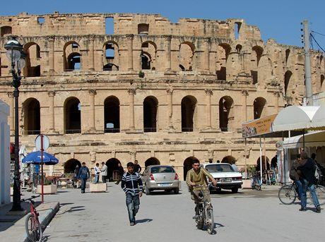 Tunisko, Mahdia. Koloseum