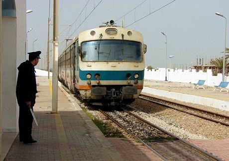 Tunisko, Mahdia. Místní metro
