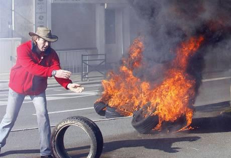 Francii ochromily stávky.