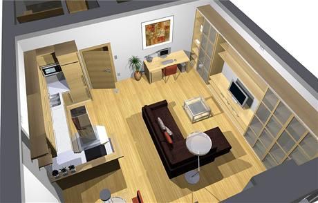 Kompletní rekonstrukce bytu 3+kk