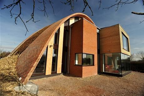 Ekologický dům s nulovými emisemi uhlíku