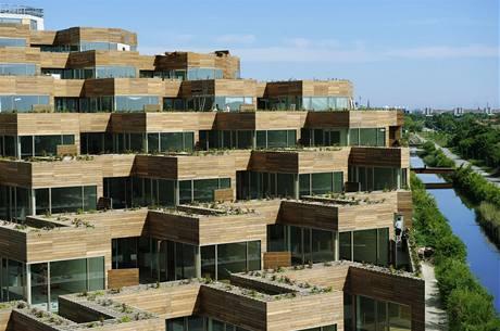 Moutnain Dwellings, Kodaň, Dánsko