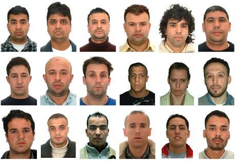Někteří z obviněných ze spoluúčasti na teroristických útocích na vlaky v Madridu z roku 2004