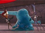 Z filmu Monstra vs. Vetřelci