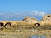Tunisko, Mahdia. Zbytky opevnění
