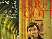 Karel Gott - obal desky Vánoce ve zlaté Praze