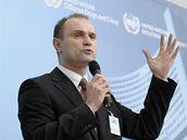 Ivan Langer na konferenci OSN o drogách ve Vídni (11. března 2009)