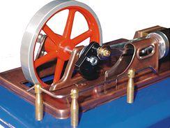 Detail  parního stroje